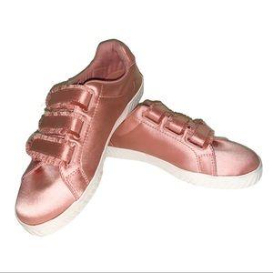 Tretorn pink Rose gold gold Fabulous sneakers